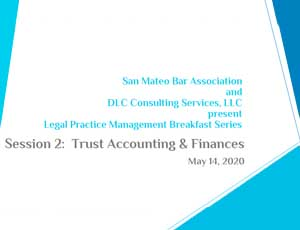 smcba - trus accounts and finaces